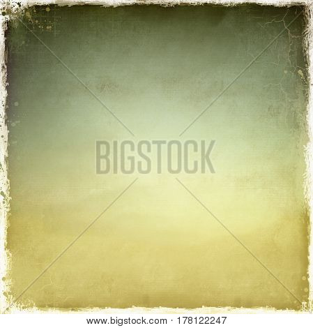 Vintage squared fabric texture background with worn borders.