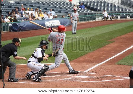 Scott Rolen of the Cincinnati Reds