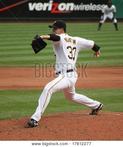 Charlie Morton of the Pittsburgh Pirates