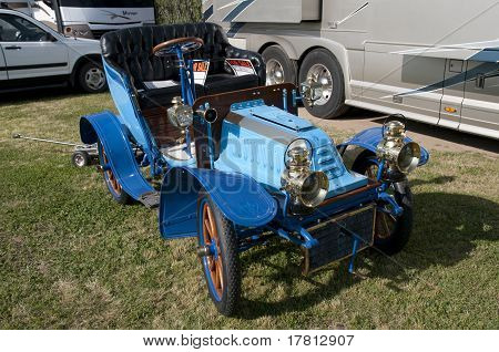 Blue Runabout