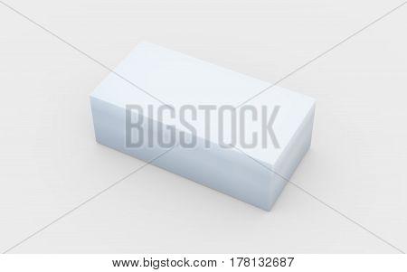 Solid Pure White Box