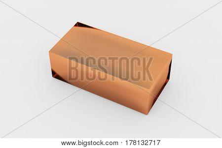 Solid Copper Metal Box