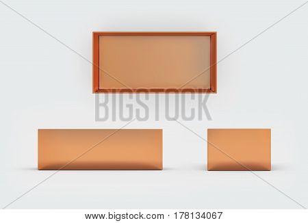 Copper Box Three Side