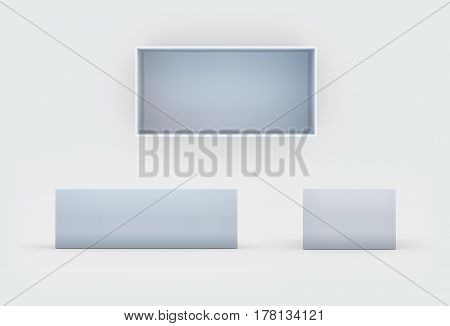 White Box Three Side