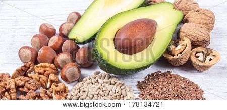 Sources Of Omega 3 Fatty Acids Contained In The Food.