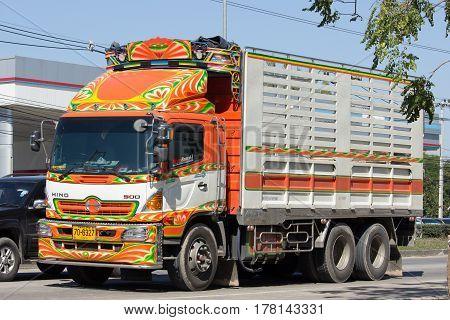 Private Hino Cargo Truck.