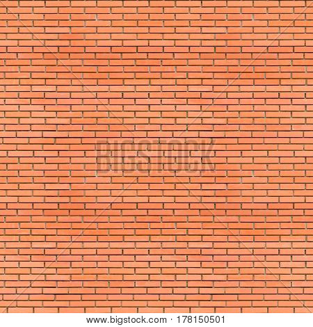 Red bricks wall seamless texture - abstract industrial seamless background of old red aged grunge brick wall for various design artworks banners and graphic
