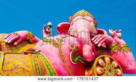 Big Ganesha with blue sky Ganesha: Lord of Success