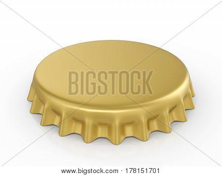 Bottle Cap 3D Illustration