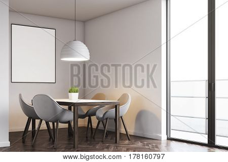 Kitchen Table And Poster