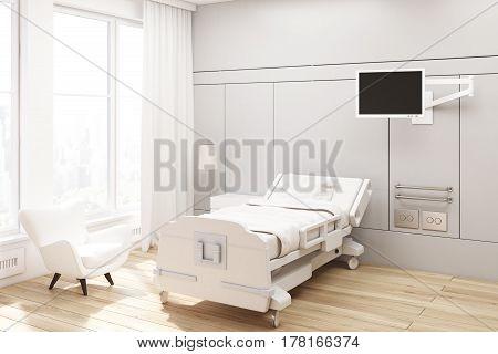 Corner Of A Hospital Ward, Gray
