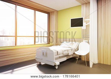 Big Window Ward, Yellow Walls, Toned