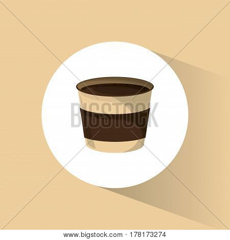 paper coffee cup beverage vector illustration eps 10
