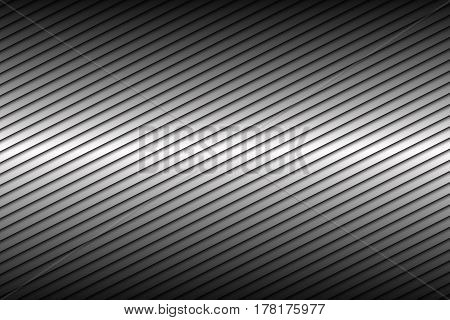 Black and silver abstract background with diagonal lines vector illustration