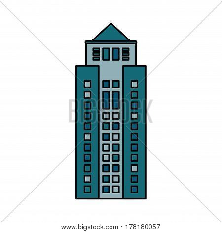 building cityspace skyscraper image vector illustration eps 10