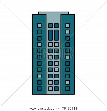 building cityspace residential image vector illustration eps 10