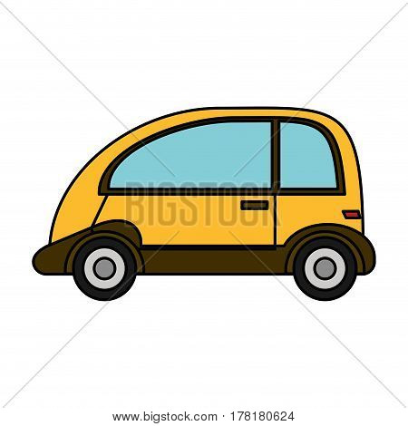 automobile vehicle eco image vector illustration eps 10