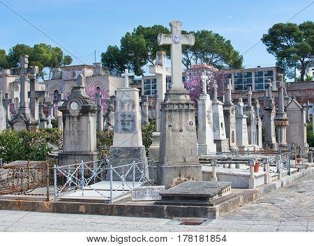 Palma Cemetery Graveyard