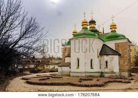 Church Of The Savior At Berestove.