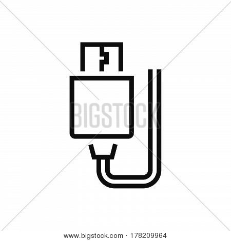 USB Adapter Line icon vector design support file eps10.
