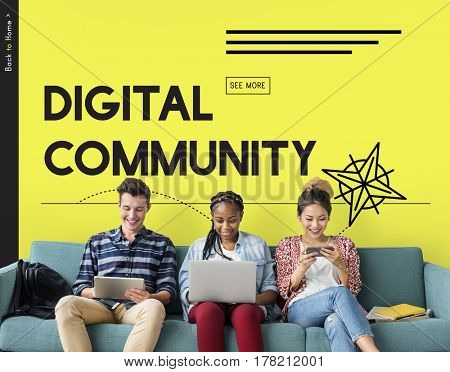 Innovation Technology Digital Media Graphic