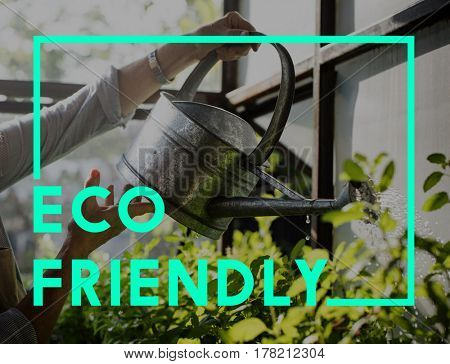 Green Living Eco Friendly Concept
