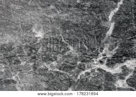 Detailed monochromatic texture of flat polished marble stone surface for flooring