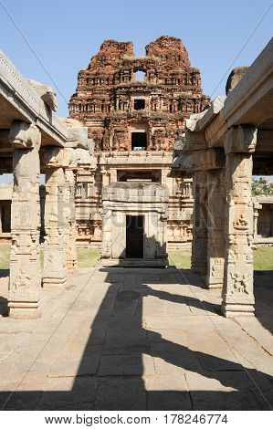 Achyutaraya Temple At Hampi