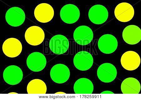 Round Background With Irregular Pattern For Modern Illustration
