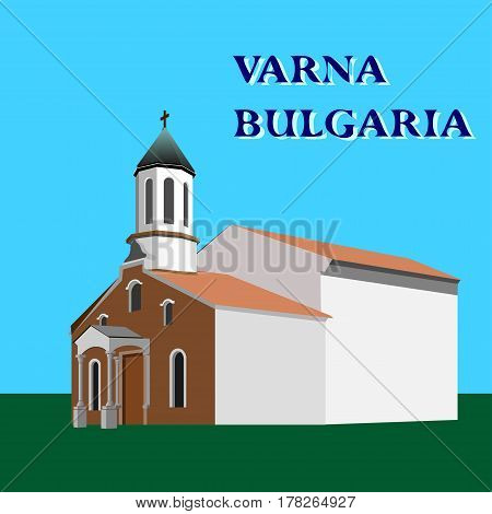 St Sarkis Armenian Apostolic Church, Varna, Bulgaria