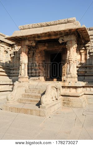 Temple Of Krisnha At Hampi