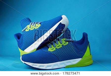 Pair Of Blue Shoes