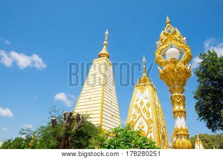 Wat Phra That Nong Bua Northeast of Thailand
