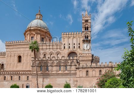 Palermo Cathedral is the cathedral church of the Roman Catholic Archdiocese of Palermo located in Palermo Sicily Italy.