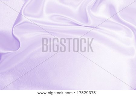 Smooth Elegant Lilac Silk Or Satin Texture As Wedding Background. Luxurious Background Design