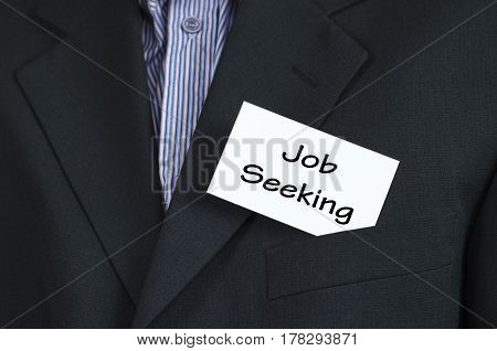 Job Seeking Text Concept