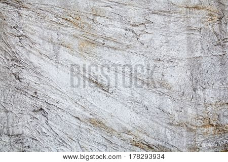 Concrete surface with rich and various texture.