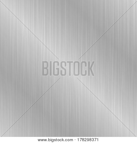 Gray seamless metallic texture. Brushed metal background.