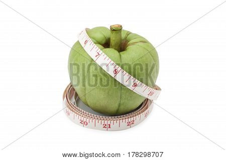Garcinia Cambogia With Measuring Tape