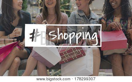 Shopping Purchasing Buying Selling Trade