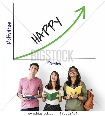 Happiness Power Smile Opportunity Graph Growth