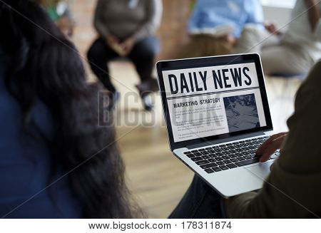 Newspaper Daily News Publishing Reading