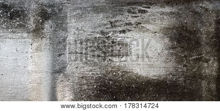Dirty Old Grunge Rough Corroded Scratched Metal. Close Up