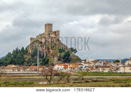 Castle of Almansa is one of the most beautiful and best-preserved castles in Castile-La Mancha Spain