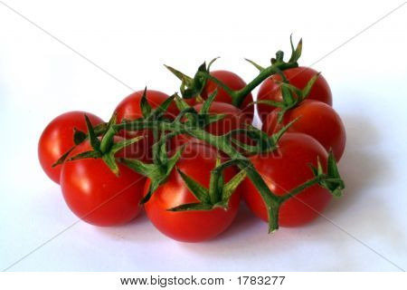 Group Of Fresh Cherry Tomato