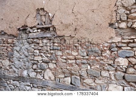 Old And Abondoned Wall