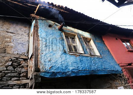 Old Building In Cumalikizik Village, Bursa, Turkey