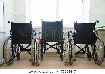 Wheel Chair In The Hospital