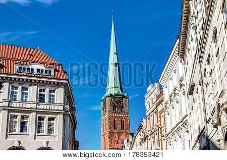 St. Mary's Church in the Hanseatic City of Lubeck