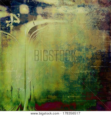 Retro style grunge background, mottled vintage texture. With different color patterns: yellow (beige); brown; green; blue; gray; purple (violet)